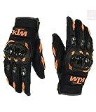 #6: Favourite BikerZ KTM Riding Gloves Black Size (M)