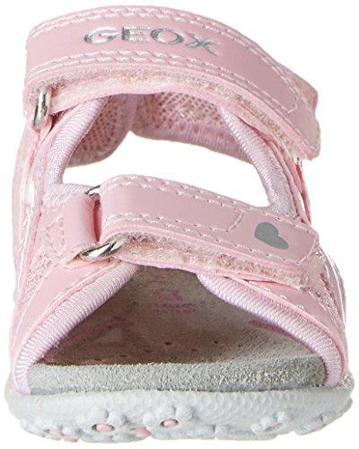 Geox B Roxanne A, Chaussures Marche Bébé Fille Rose (C8004)