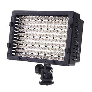 Andoer CN-160 LED Video Light Dimmable Ultra High Power Panel for Canon, Nikon, Pentax, Panasonic,SONY, Samsung Olympus Cameras