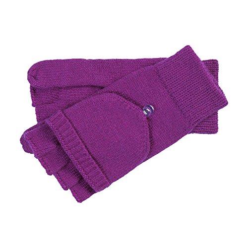 Roeckl Damen Handschuhe Essentials Kapuzenhandschuh, Violett (Purple 675), One Size