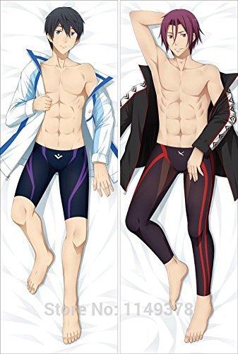dslhxy-dakimakura-hugging-body-pillow-cases-covers-free-haruka-nanase-rin-matsuoka-yc0115