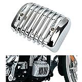 CICMOD Motorrad Regulator Cover Spannungsreglergleichrichter Deckel Abdeckung Verkleidung für Harley Davidson '01-'13 Softail Modelle (Chrome)