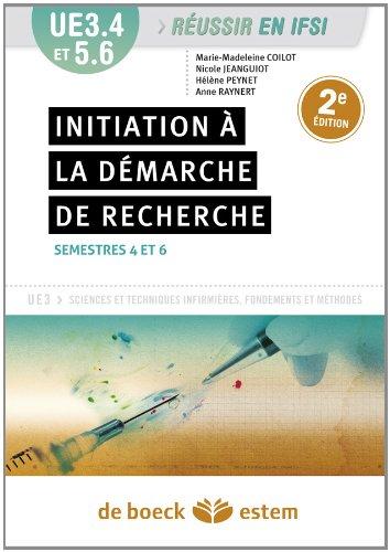 UE 3.4 et 5.6 - Initiation à la démarche de recherche et traitement des données - Semestres 4 et 6
