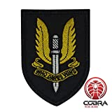 """Who Dares Wins"" Motivational Military Patch with velcro"