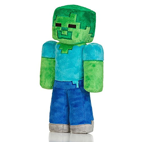 Official Minecraft Zombie 32.5 cm Plush Toy Minecraft Zombie Oficiales