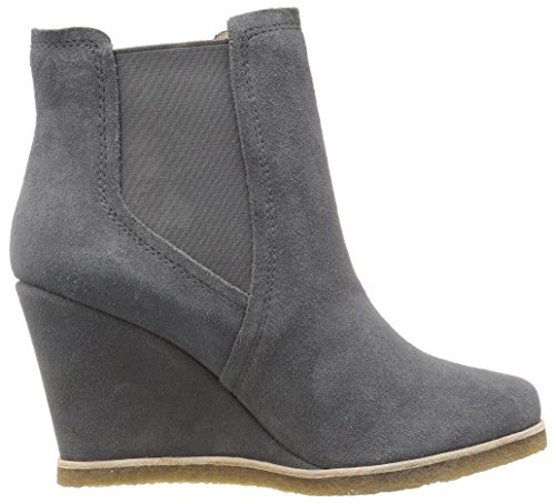 Splendid Tara Femmes Cuir Bottine Dark Grey