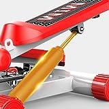 JINHONGH Kostenlose Installation der Silent Hydraulic Foot Machine-Übungs-Stepper-Fitness-Drehmaschine (Color : Orange)