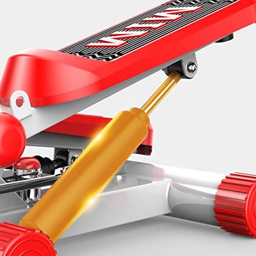 FELICIPP Kostenlose Installation der Silent Hydraulic Foot Machine-Übungs-Stepper-Fitness-Drehmaschine (Farbe : Orange) -