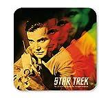 Star Trek - Captain Kirk - Laserwaffe Coaster - Untersetzer - farbig - Lizenziertes Originaldesign - LOGOSHIRT