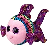 Ty - Beanie Boos Keychain Clip Flippy, Fisch multicolor 8,5cm