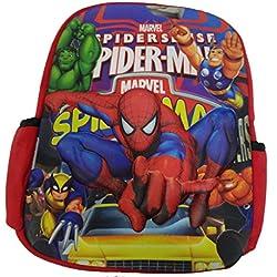 3D Embossed kids school bag
