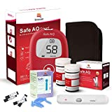 sinocare Diabetes Testing Kit/Blood Glucose Monitor Safe AQ Smart/Blood Glucose Sugar Test Kit