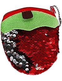 FankouHausschuhe Sommer Mädchen weiche, rutschfeste Double en-suite Bäder schöne Frucht Dicke eine Familie von drei und einem kühlen ,190 (19 cm), Erdbeere rot