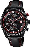 Festina Herren Chronograph Quarz Uhr mit Leder Armband F20344/5