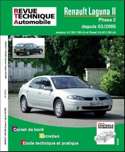 revue technique laguna 2 1.8 16v