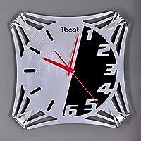 PRIDE S Moda creativa Soggiorno muto Hanging Orologio da parete Orologi Personalizzati Orologi Aviation decorazione di arte metallo semplice