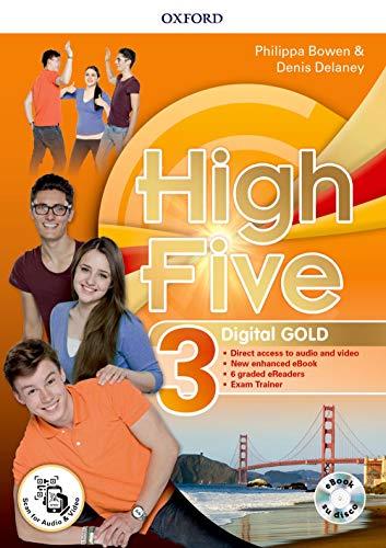 High five. digital gold. per la scuola media. con e-book. con espansione online: 3