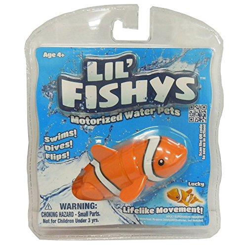 Rocco Giocattoli Lil'Fishys Pesciolini Robot, Modelli assortiti
