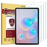 OMOTON [3 Stück] Panzerglas Schutzfolie für Samsung Galaxy Tab S6/Tab S5e T720/T725,10.5 Zoll Displayschutzglas,9H Härte, Anti-Kratzer, Anti-Öl, Anti-Bläschen,2.5D