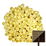 #8: IFITech 20 Feet 50 LED Solar String Light (Yellow)