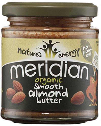 Meridian Org 170g de beurre d'amande