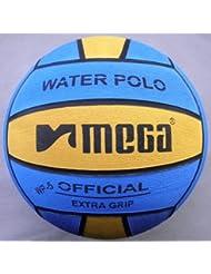 Water Polo Ball. Mega. Blue-Yellow diseño. Tamaño 5