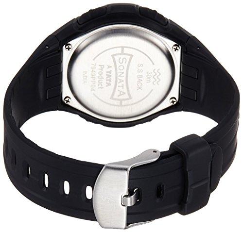 Sonata SuperFibre Digital Grey Dial Men's Watch (NF7949PP04J)