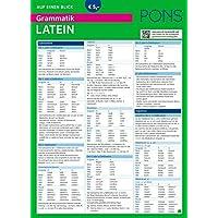 PONS Grammatik auf einen Blick Latein (PONS Auf einen Blick)