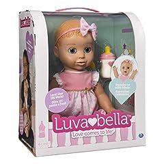 Idea Regalo - Luvabella- Bambola Interattiva, Versione Italiana/Tedesca, Colore Bionda, 6039298