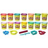 Play-Doh-B6380F03 Pack Colores Brillantes (Hasbro B6380F02)
