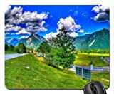 highway exchange in the valley hdr Mouse Pad, Mousepad (Mountains Mouse Pad)