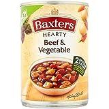 Baxters Carne De Vacuno Y Abundante De Verduras 400g Sopa (Paquete de 6)