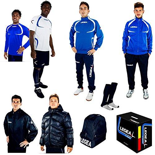 LEGEA Tornado Sportswear Set Hellblau