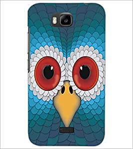 HUAWEI HONOR BEE OWL Designer Back Cover Case By PRINTSWAG