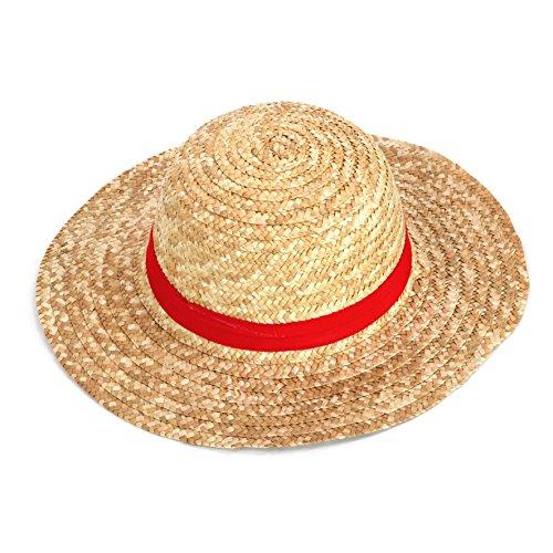 One Piece Monkey D. Luffy Ruffy Sombrero de paja Sombrero Accesorios de  vestuario Una pieza aab4083a1b7