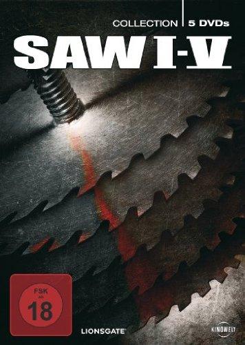 Saw I - V (5 DVDs, Digipack)