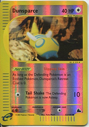 Pokemon Skyridge Reverse Holo#53/14 (DE) Dunsparce 4. (Pokemon Dunsparce)