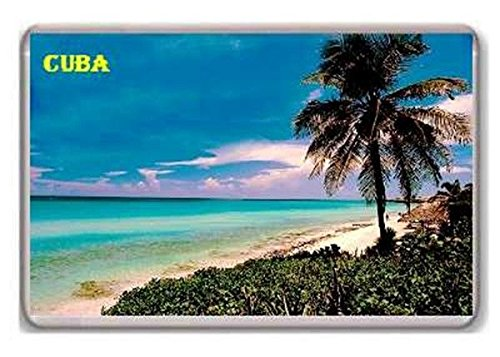 Photosiotas Cuba Calamita da frigo Caribbean Island Vintage Travel Fridge Magnet