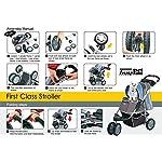 Pet Stroller Ips-09/Blue, dog carrier, trolley, Trailer, Innopet, Buggy First Class. Foldable pet buggy, pushchair, pram… 16