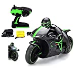 MousePotato presents the newly launched Professional High Speed Remote-Control Motorcycle on the market. The Motorcycle is a full function RC powered bike meant for sleek riding, stunt slides and maneuvers. Unique Design minimizes falling over, this ...