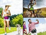 [Sport Hüfttasche] SHOWTIMEZ Hüfttasche Multi-Function Gürteltasche Wasserabweisende Bauchtasche Flache Taille Tasche mit Flaschenhalter zum Sport und Reisen - 7