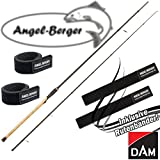 DAM Nanoflex Pro Spinnrute alle Modelle mit Angel Berger Rutenband (3,00m / 30-80g)