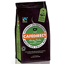 (Pack Of 6) Cafe Direct – Fair Trade – Organic Machu Picchu Fairtrade – (227g) 51bcgxjDqyL