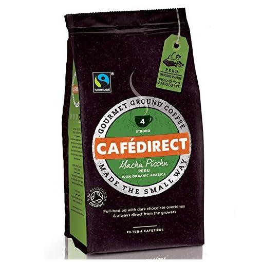 (Pack Of 6) Cafe Direct – Fair Trade – Organic Machu Picchu Fairtrade – (227g)