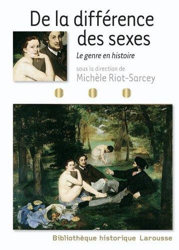 De la différence des sexes - Le genre en histoire (Bibliothèque historique Larousse)