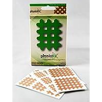 Physiotix Gitterpflaster | Bei Rücken-/ Kopfschmerzen & Blockaden | Selbstklebendes Crosstape | Hautfarben | wasserfest preisvergleich bei billige-tabletten.eu
