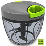 #5: Home Puff Vegetable Cutter ,Chopper & Large Blender 3 Stainless Steel Blade System (725 ml)