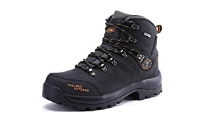 TFO Trekking & Wanderschuhe Herren/Damen Wasserabweisende und Atmungsaktive Outdoor Schuhe mit Rutschfeste Sohle