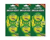 Celaflor Ameisen-Köder - mit schneller und zuverlässiger Nestwirkung - 3x 2 Dosen - Mit Gratis Gardopia Zeckenzange