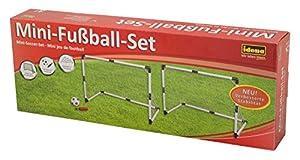 Idena 40465-Mini portería de fútbol, Juego de 2, Aprox. 91,5x 61x 48cm